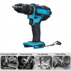 3 in 1 Electric Cordless Impact Drill 18V Electric Screwdriver Drill Power Tool