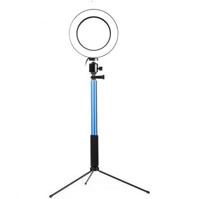 3 in 1 LED Ring Light Blue 20CM