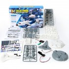3 in 1 Solar Powered Robot Moon Exploration Fleet Assemble DIY Puzzle Toy for Kids