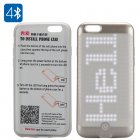300 LED Programmable iPhone 6 Case is the perfect way to show of your sparkling iPhone 6 and impress your friends with some scrolling text and pictures