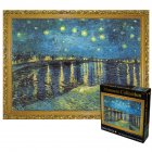 3000pcs Large Starry Sky Van Gogh Puzzle Early Education Toy Gift for Adult Kids Starry Night