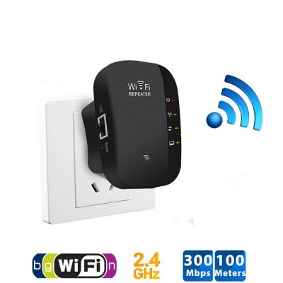 300Mbps WiFi Signal Amplifier - US Plug