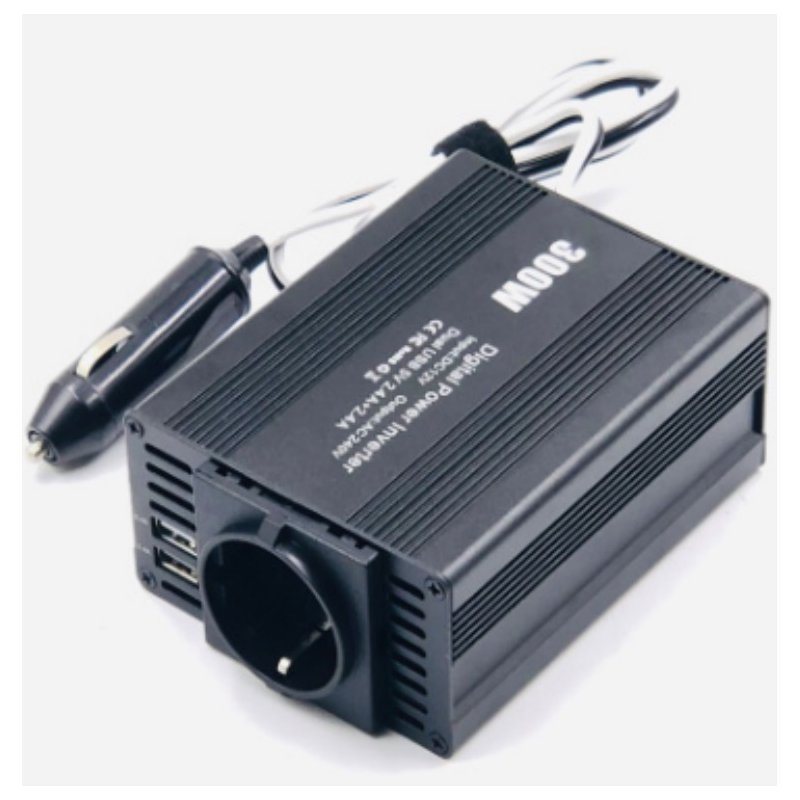 300W Car Power Inverter Converter DC12V to AC110V Adapter Dual USB Charging Port  European regulations
