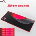300x700mm A700 Mouse Pad Mouse Mat Premium-Textured Non-Slip Rubber Base Gaming Mousepad for Laptop Computer Office Desk Pad  black_300*700*3mm