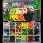 301 Pcs Bionic Fishing Lures Set Simulation Luer Minnow Fhard Baits/Soft Baits Artificial Lures Ocean/Lake /River Fishing Access :301 pieces