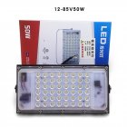 30W/50W LED Thin Outdoor Floodlight with White Light 6500K 12-85V 50W