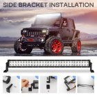 30inchs 2 Rows 300W LED Off-road Car Roof Headlights Long Strip Bar Lights 30 inches
