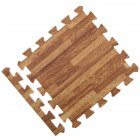 30x30x1cm Baby Split Joint Puzzle Mat Wood Grain Play Creeping Climbing Game Pad - 6pcs/set Dark 6pcs_30*30*1.0cm