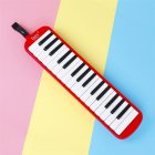 32-key Piano Professional Playing Musical Instrument with Mouthpiece + Long Hose red_32 keys