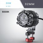 32mm 42mm 52mm 30W Motorcycle Lighting Accessories Headlight LED Super Bright Motocross Auxiliary Strobe Lights
