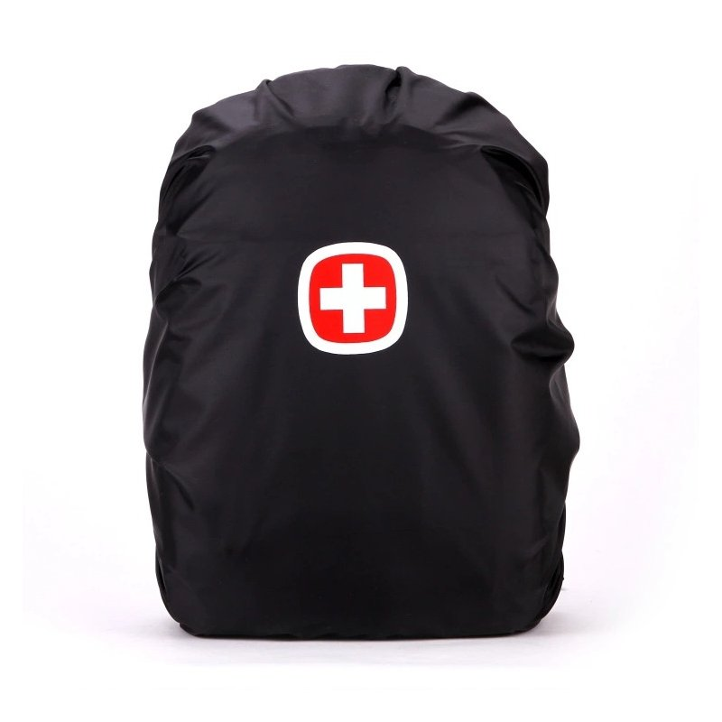 35L/45L Rain Cover Backpack Waterproof Bag Outdoor Camping Hiking Climbing Dust Raincover black_35 liters / S
