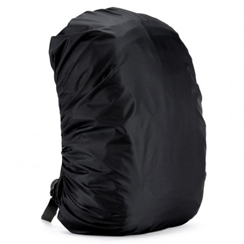 35L Adjustable Backpack Rain Cover -Black