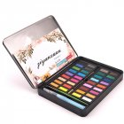 36 Colors Solid Watercolor Artist Paint Set Painting Pigment Box Art Supplies 36 colors