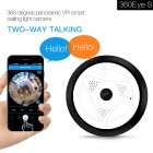 360 degree Panorama 200W Pixel 1080P Wireless Wifi Digital Video Camera Mini Micro DVR DV