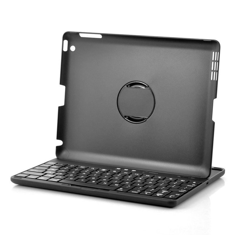 360 Rotating Bluetooth Keyboard Case for iPad