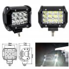 36W LED Work Light Bar Beam Spot Offroad Driving Fog Lamps for SUV ATV  black