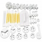 37Pcs/Set in 12 Styles Baking Tools Cake Mold Set Cookies Embossing Decorative Mould 37Pcs/Set in 12 Styles