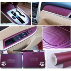 3D Carbon Fiber Vinyl Film Wrap for Car Vehicle Laptop2T50