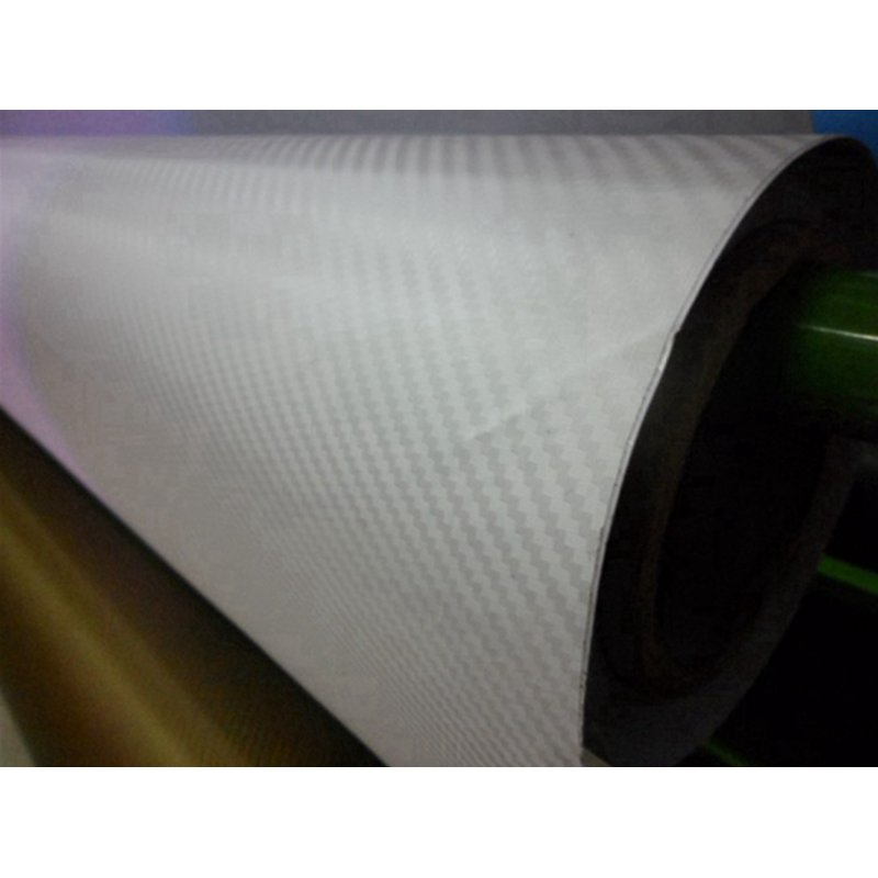 3D Carbon Fiber Vinyl Film Wrap Clear Color