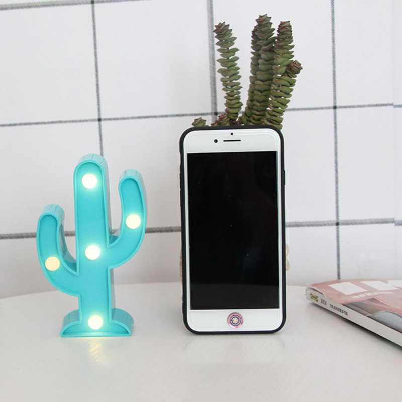 Cactus Modeling Night Light LED Lamp