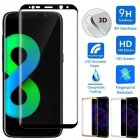 3D Curved Full Cover Tempered Glass Film Screen Protector For Samsung Galaxy S8 S8 Plus Black