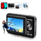 3D Digital Camcorder with 2D 3D switchable capabilities and dual 5 megapixels is ideal to capture life   s special moments in spectacular 3D effect