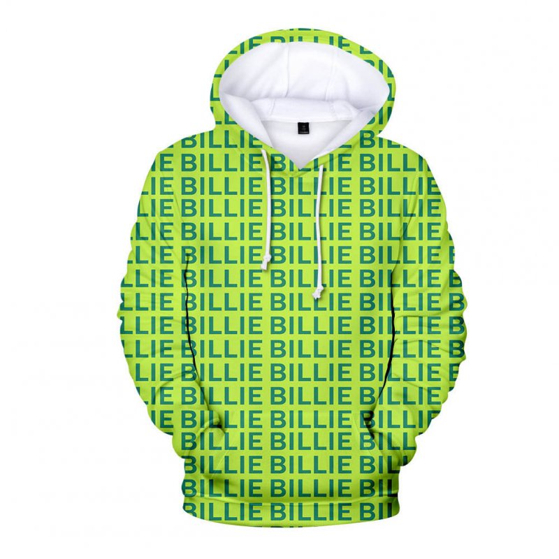 3D Digital Pattern Printed Top Casual Hoodie Leisure Loose Pullover for Man A_M