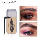 3D Feathery Brows Setting Gel Lasting Waterproof Brows Makeup Balm Natural Eyebrow Tint Pomade Cosmetics 20g