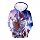 3D Pattern Printed Hoodie Drawstring Leisure Sweater Top Pullover for Man and Woman Section 5_XXL