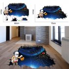 3D Scary Halloween Wall Sticker Floor Paster for Halloween Wall Floor Surface Decoration AFH1102
