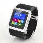 3G Dual Core Android Smart Watch has a 1 54 Inch TFT Touch Screen  MTK6577 1GHz CPU plus a 3 Megapixel Camera