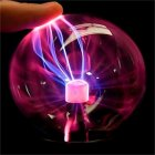 3Inches Night Light USB Charging Magic Plasma Ball for Holiday Party Children Christmas Decor 3 inches_USB plug in