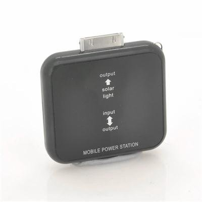 Solar Battery Charger for iPhone Black