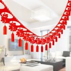 3M Red Garland Runners Hanging Pendant for New Year Spring Festival Decoration
