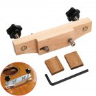 Wooden Guitar Bridge Clamp Guitar Bonding Clip Bridge Adhesive Tool Acoustic/Classical Guitars Luthier Repair Tools Wood color