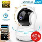 3MP Wireless WIFI Mini IP Camera 1920*1080 High Definition Security Camera Phone Remote US Plug