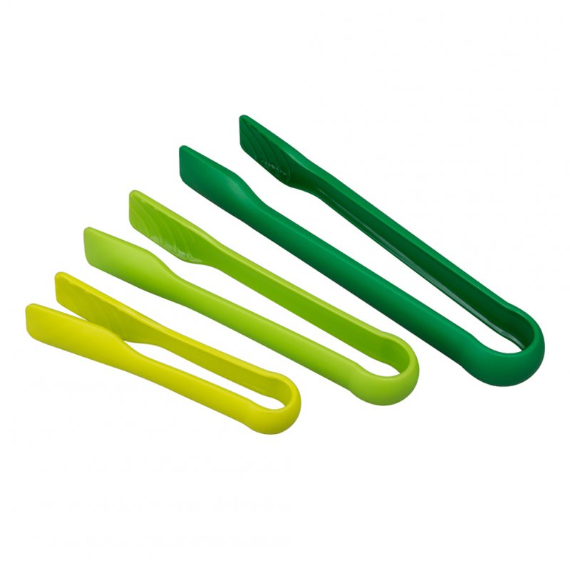 3PCS Anti-Slip Bread Tong Exquisite Food Clip Kitchen Baking Tool  green