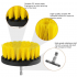 3Pcs 5Pcs  Drill Brush Bathroom Tile Grout Multi purpose Power Scrubber Cleaning Kit Yellow  5 piece set  yellow