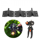 3Pcs Set U   V   Omega Blade Garden Grafting Machine Pruning Cutting Tool