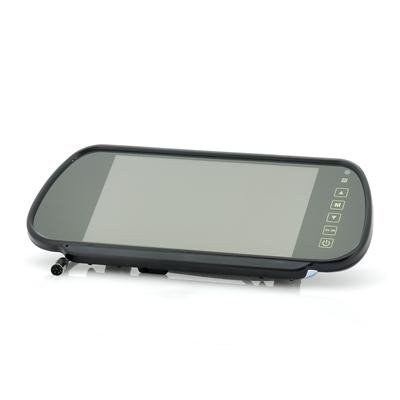7 Inch Mirror Monitor w/ Touch Buttons