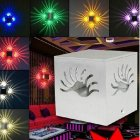 3W RGB Remote Control LED Lamp Creative Hotel Bar Stage Light Personality Decoration Wall Lamp