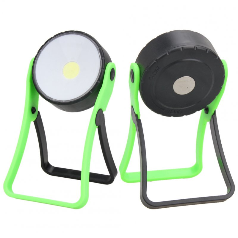 3W Stand COB LED Work Light Highlight Maintenance Tool Lamp Flashlight with 360 Degree Magnet Hanging Hook Stand
