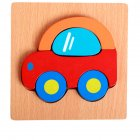 3d Wooden Puzzle  Learning Early  Educational Toys For  Children  Kids car