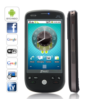 Eclipse Novus - Dual SIM Android 2.2 Phone with Capacitive Touchscreen (Black)