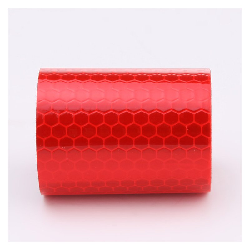 3mx5cm Colorful Reflective Safety Warning Conspicuity Tape Film Sticker 3M red