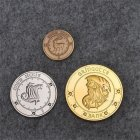 3pcs Coins Galleons Gringotts Bank