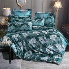 3pcs Night Bedding Jacquard Duvet  Cover Pillowcase For  Home  Hotel