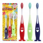 3pcs/set Smiley Face Soft Toothbrush