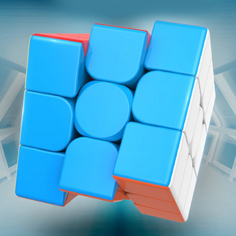3x3x3 Magic Cube Stickerless Design Kids Adults Antistress Game Puzzle Mental Development Educational Toy