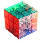 3x3x3 Transparent Color Stickerless Cube